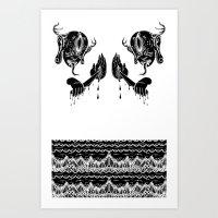 doom Art Prints featuring DOOM by Ichsjah