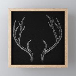 Antler Magic Framed Mini Art Print