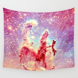 Galaxy: the pillars of creation nebula Wall Tapestry
