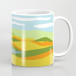 Moutains and River in Fall Coffee Mug