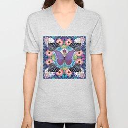 queen of the butterflies Unisex V-Neck