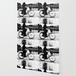 Pizza By Bike Wallpaper