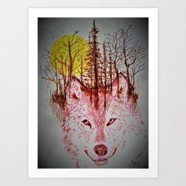 """Wild Things"" Art Print"