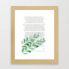 If Framed Art Print