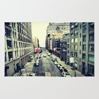street Area & Throw Rugs featuring street by ALEXIS