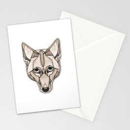 Edges (Coyote) Stationery Cards