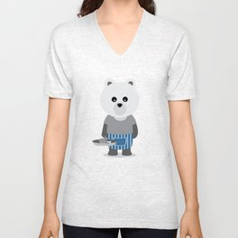 Domestic Bear Unisex V-Neck