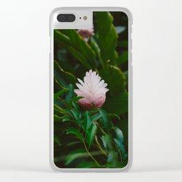 Tropical Hawaii IX Clear iPhone Case