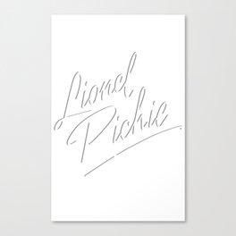 Lionel  Canvas Print