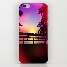 Warm Summer Nights at Dusk iPhone & iPod Skin