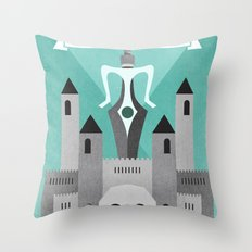 Castle Grayskull Throw Pillow
