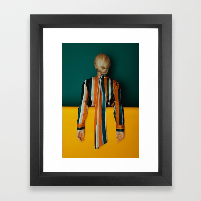 Block 4 Framed Art Print