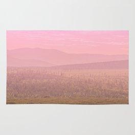 Pink Landscape - #society6 #buyart Rug