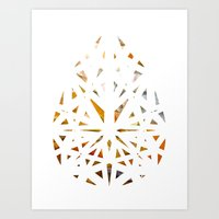 prism Art Prints featuring Prism  by Tayler Kiiim