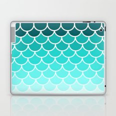 Ombre Fish Scale Pattern Laptop & iPad Skin