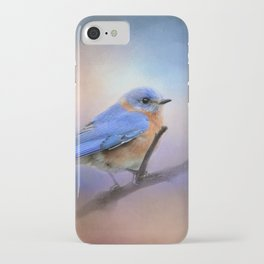 The Happiest Blue - Bluebird iPhone Case