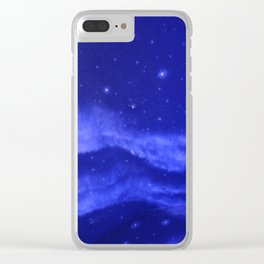 the heavens Clear iPhone Case