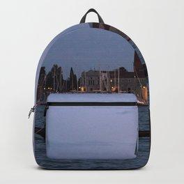 Venice Italy at Twilight Photography, Travel Italy Wall Art, Venetian Wall Art  Backpack