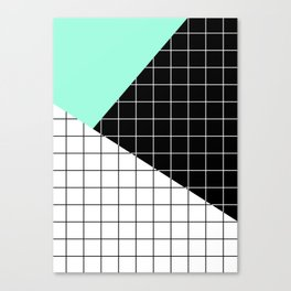 Minimal Geometry II Canvas Print