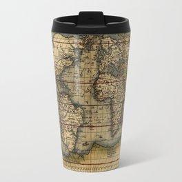 Old World Map print from 1564 Travel Mug