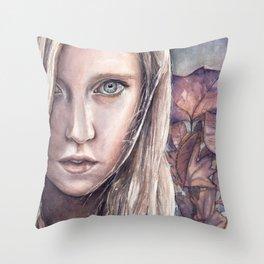 Beyond Autumn Throw Pillow