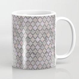 Blush And Grey Moroccan Tiles  Coffee Mug