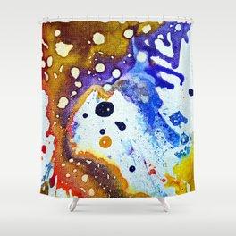 Polychromoptic #1B Shower Curtain