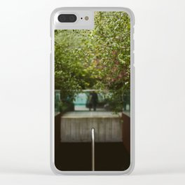 To The High Line Clear iPhone Case