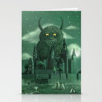 boy Stationery Cards featuring Age of the Giants  by Terry Fan