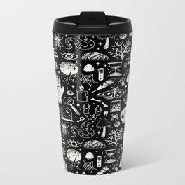 Curiosities: Bone Black Metal Travel Mug
