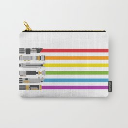 Lightsaber Rainbow Carry-All Pouch
