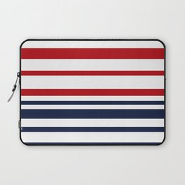 Striped blue-red Laptop Sleeve