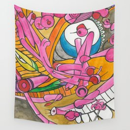 Polluted Head Wall Tapestry