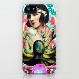 Octopus Girl iPhone Case