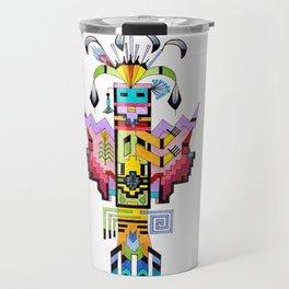 Kachina Butterfly 6 Travel Mug