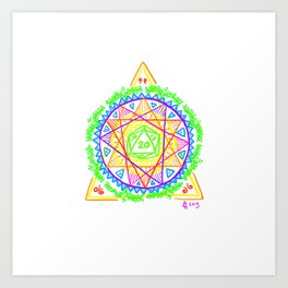 What's Your d20? Art Print