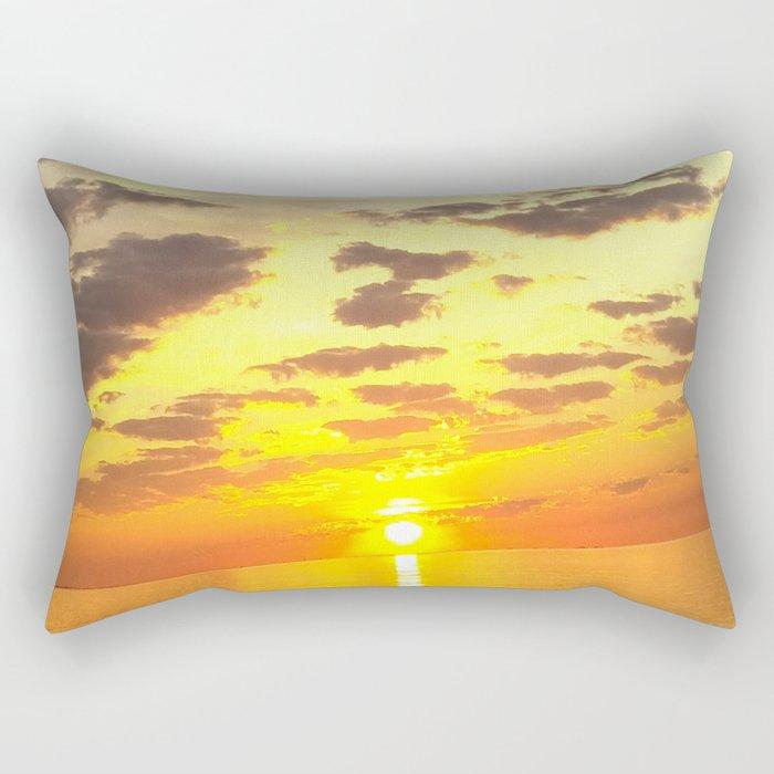 Acidic Sunrise - DreamScapes Collection Rectangular Pillow