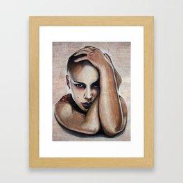 Natalie Portman Framed Art Print