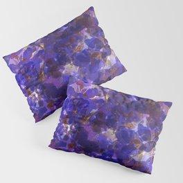 Deep Purple Violets Pillow Sham