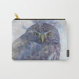 Artistic Animal Owl Carry-All Pouch