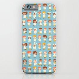Happy kids iPhone Case