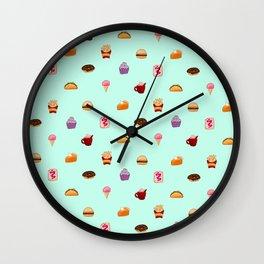 CUTE FOOD Wall Clock