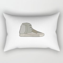 Yeezys 750 - Brown White Rectangular Pillow