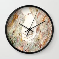 perfume Wall Clocks featuring Perfume #2 by Dao Linh