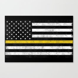 Thin Gold Line Canvas Print