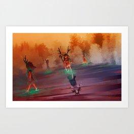Seers Isle: Spirit Walk Art Print