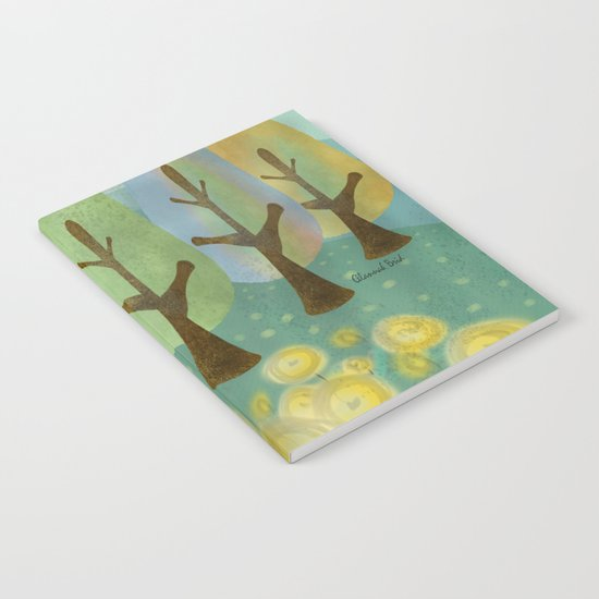 Field of Flowers Notebook