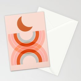 Cradle the moon - twilight Stationery Cards