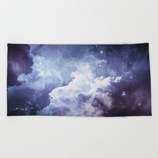 A Sky Made of Diamonds Beach Towel