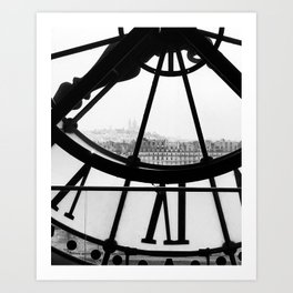 D'Orsay time Art Print